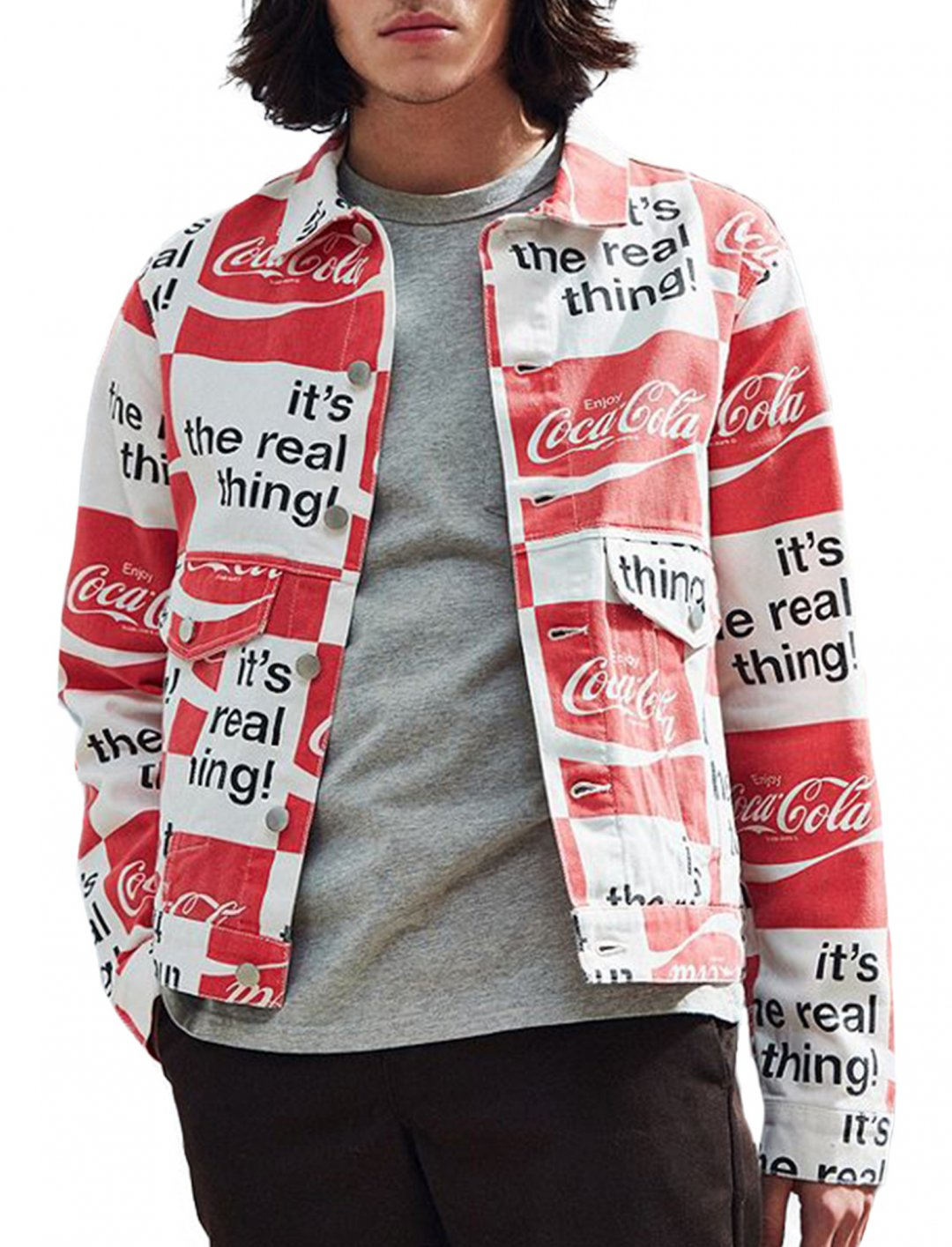 """Brandon's Coca-Cola Jacket {""""id"""":5,""""product_section_id"""":1,""""name"""":""""Clothing"""",""""order"""":5} BDG"""