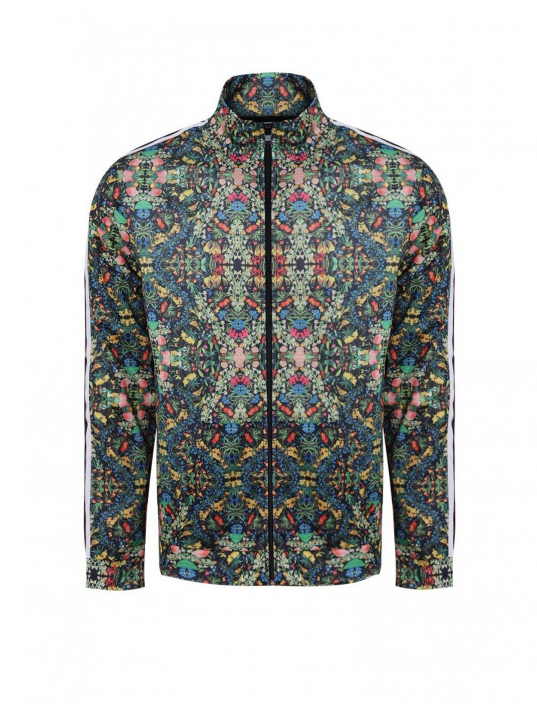 """BoohooMAN Tropical Print Jacket {""""id"""":5,""""product_section_id"""":1,""""name"""":""""Clothing"""",""""order"""":5} BoohooMAN"""