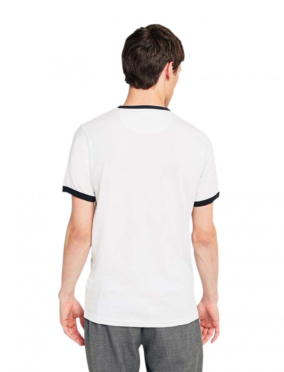 """Farah Groves Ringer Tee {""""id"""":5,""""product_section_id"""":1,""""name"""":""""Clothing"""",""""order"""":5} Farah Groves"""