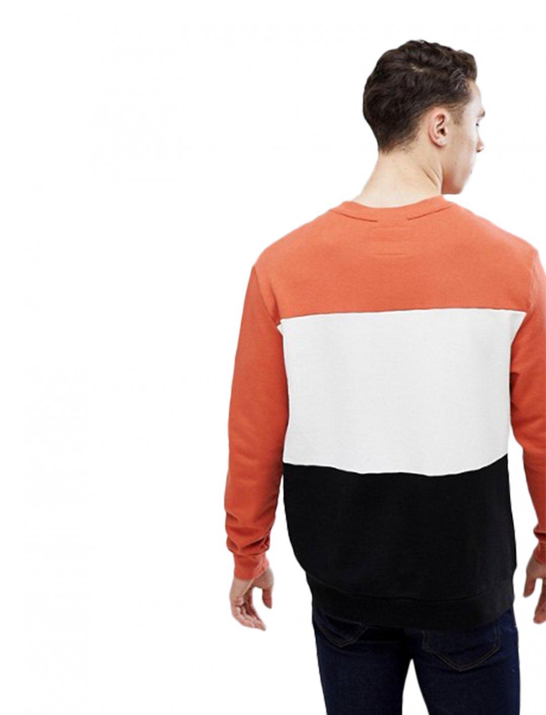 "Stradivarius Colour Block Sweatshirt {""id"":5,""product_section_id"":1,""name"":""Clothing"",""order"":5} Stradivarius"