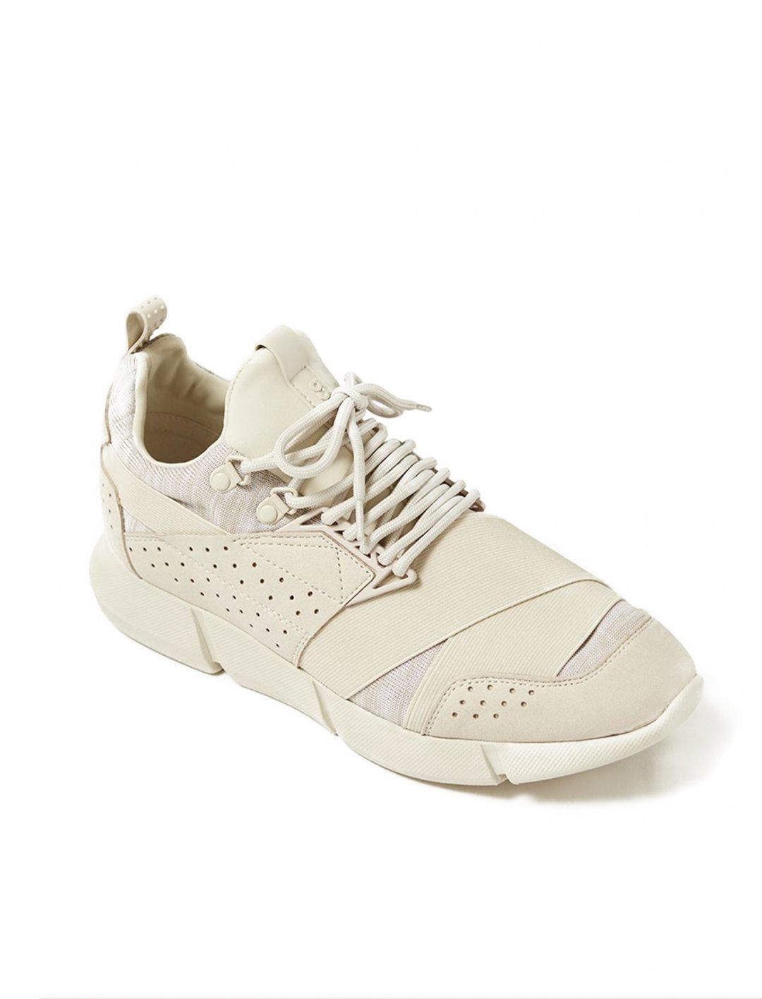 """Cortica's Off White Canvas Trainers {""""id"""":12,""""product_section_id"""":1,""""name"""":""""Shoes"""",""""order"""":12} Cortica"""