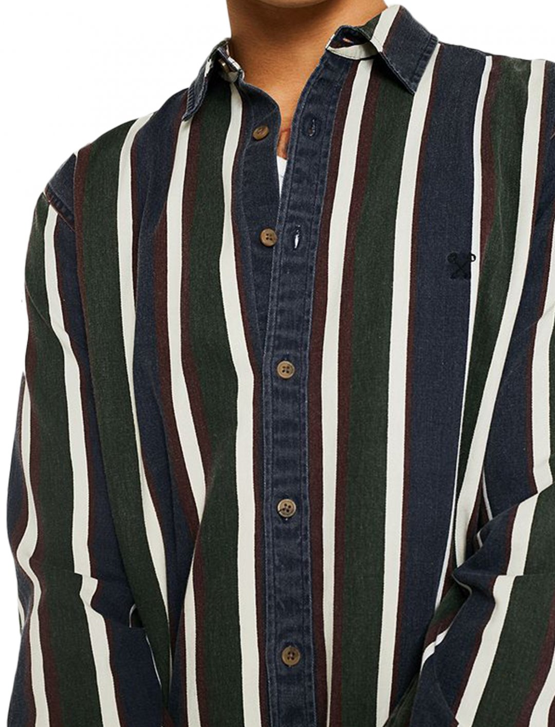 """UO Sports Stripe Shirt {""""id"""":5,""""product_section_id"""":1,""""name"""":""""Clothing"""",""""order"""":5} Urban Outfitters"""