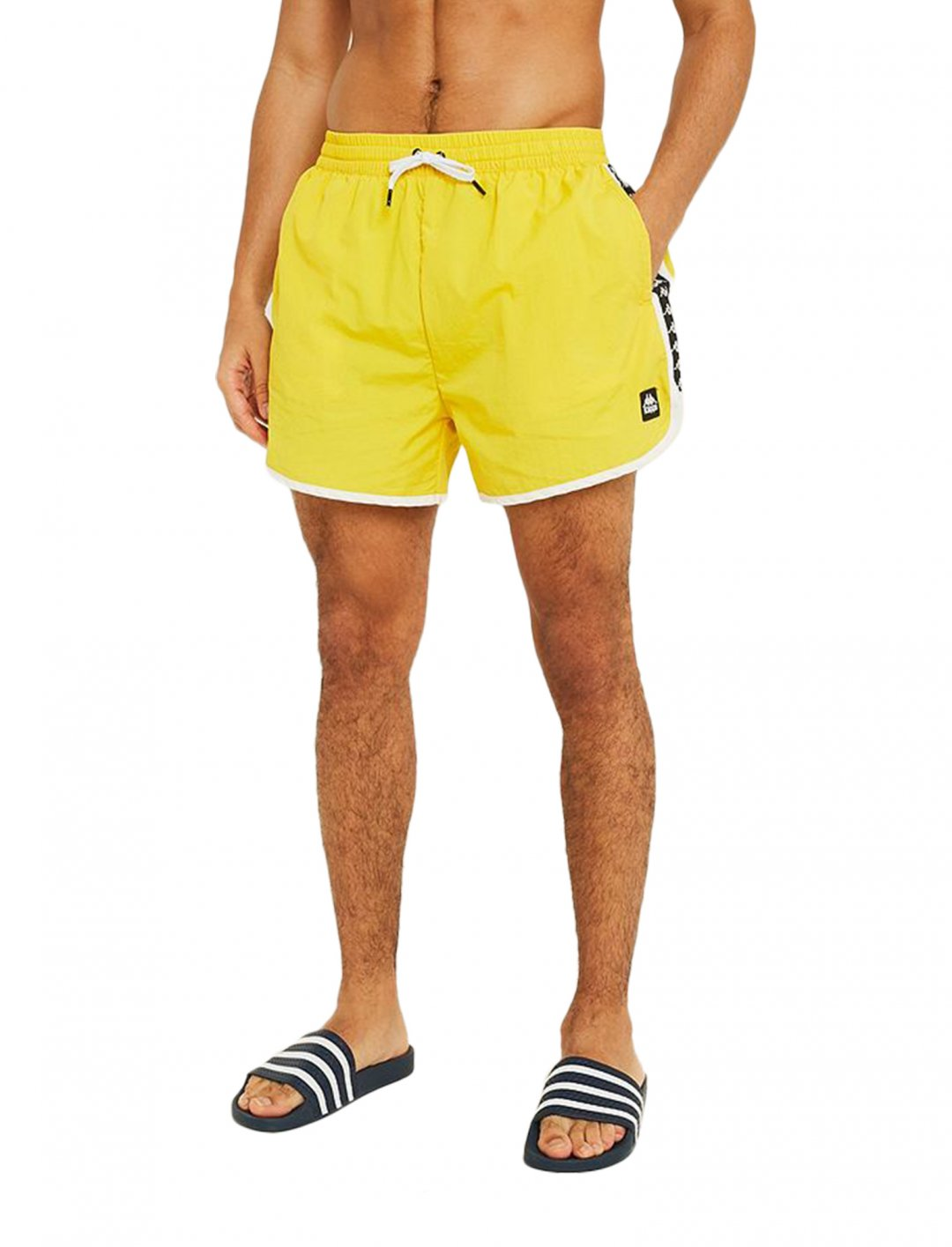 "Kappa Yellow Swim Shorts {""id"":5,""product_section_id"":1,""name"":""Clothing"",""order"":5} Kappa"
