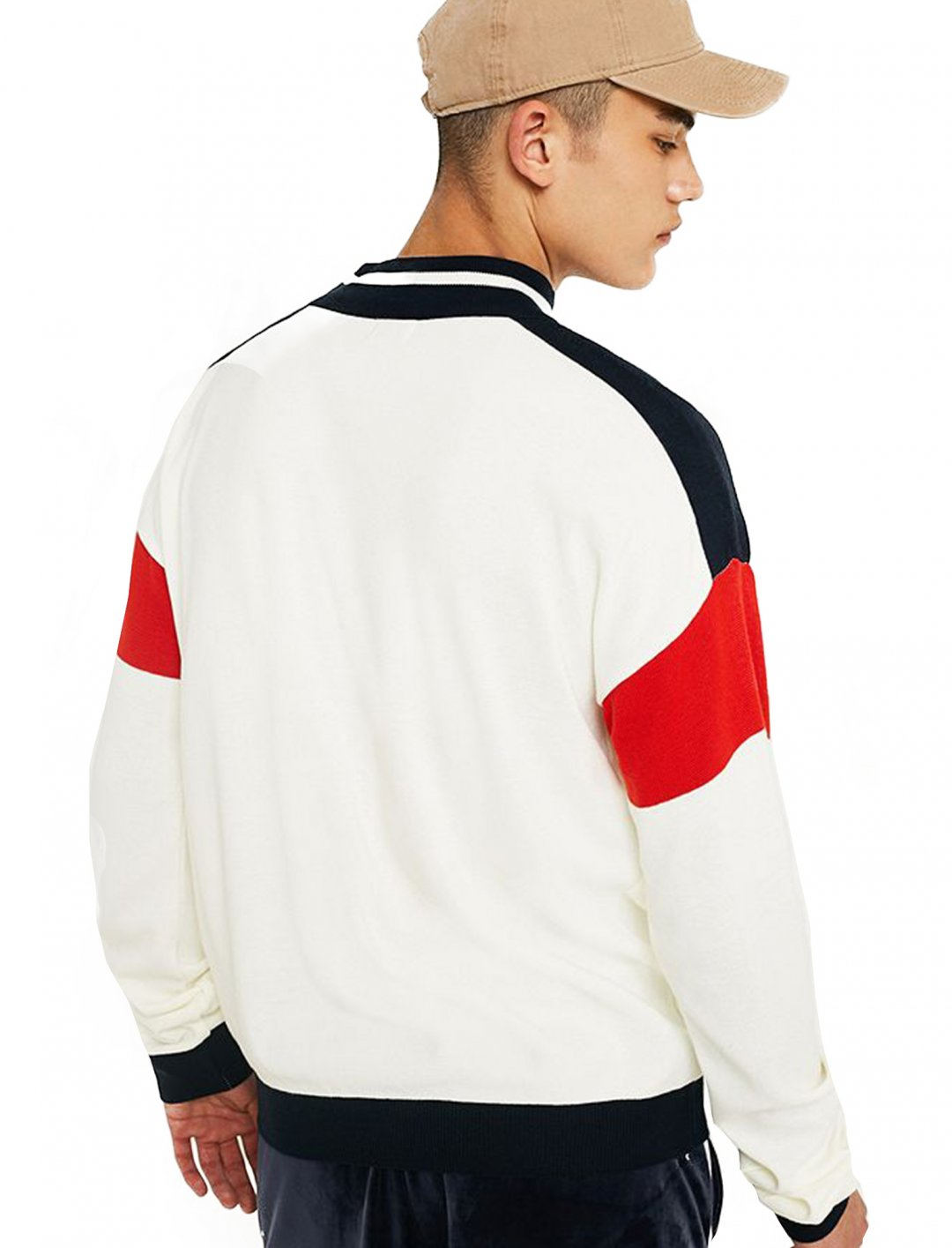 """Loom Mock Neck Jumper {""""id"""":5,""""product_section_id"""":1,""""name"""":""""Clothing"""",""""order"""":5} Loom"""