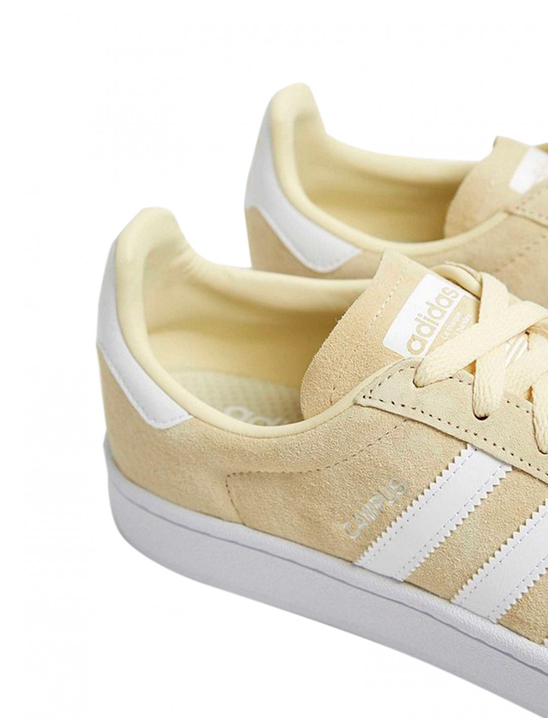 """Adidas Campus Ivory Trainers {""""id"""":5,""""product_section_id"""":1,""""name"""":""""Clothing"""",""""order"""":5} Adidas"""