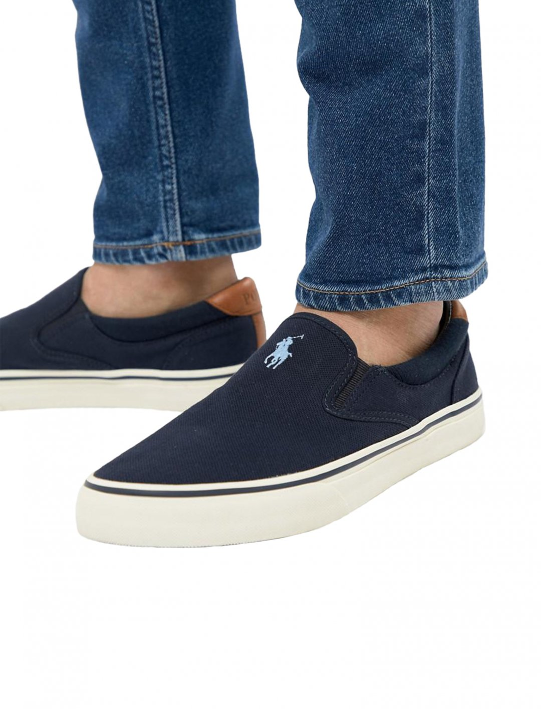 """Polo Ralph Lauren Slip On Plimsolls {""""id"""":12,""""product_section_id"""":1,""""name"""":""""Shoes"""",""""order"""":12} Polo Ralph Lauren"""