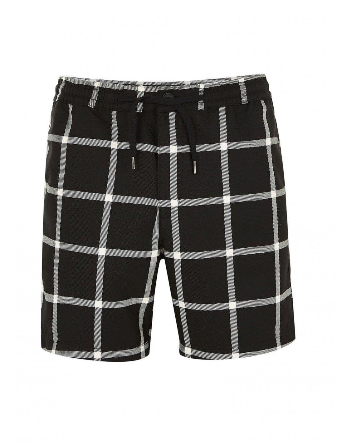 "Topman Black Windowpane Shorts {""id"":5,""product_section_id"":1,""name"":""Clothing"",""order"":5} Topman"
