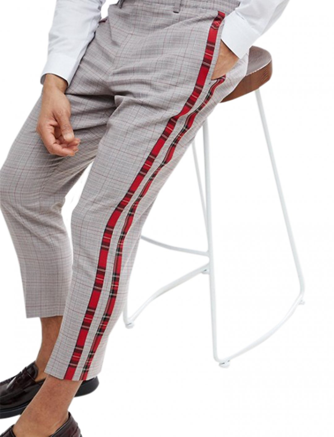 """Asos Trousers In Check {""""id"""":5,""""product_section_id"""":1,""""name"""":""""Clothing"""",""""order"""":5} Asos"""