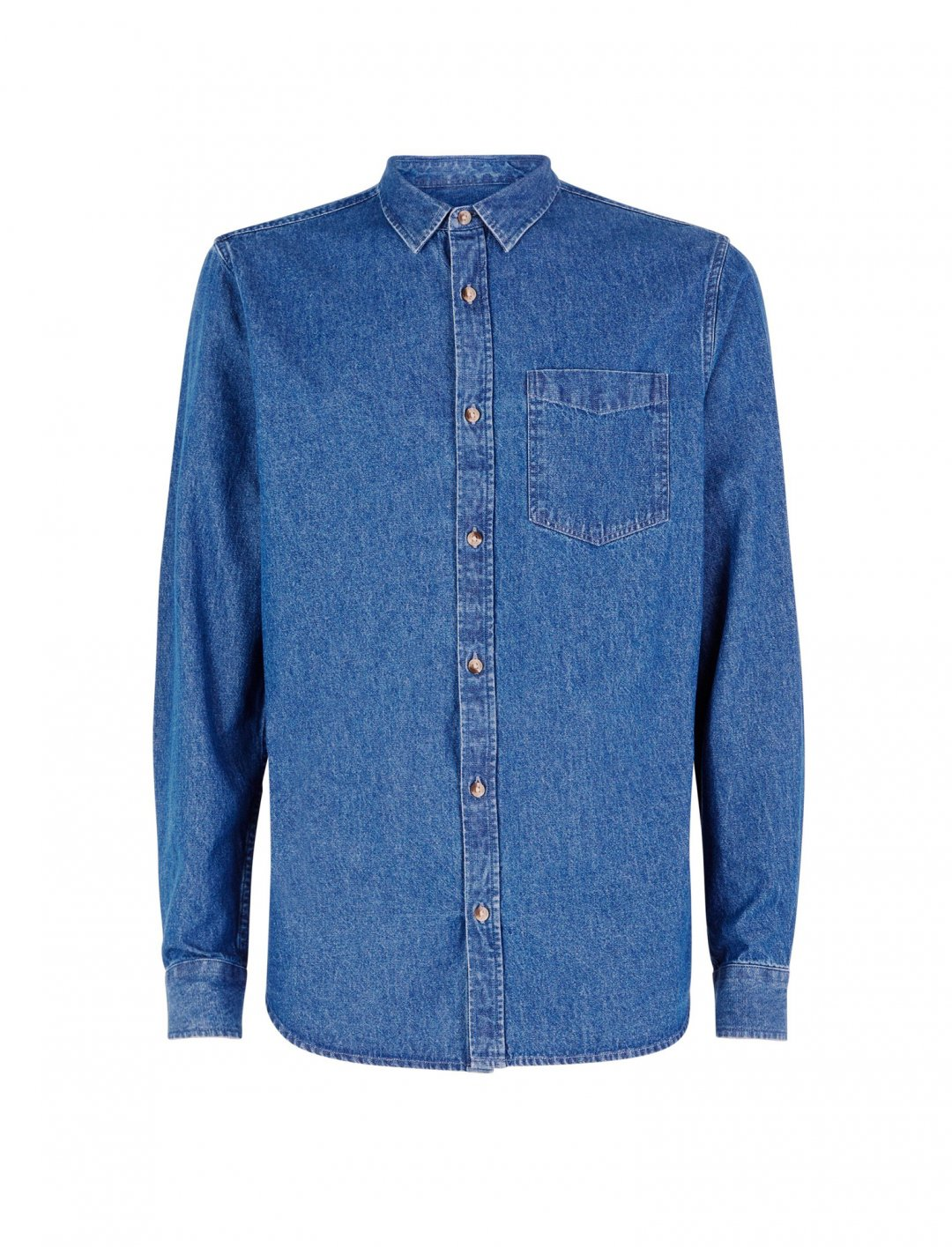 """New Look Denim Shirt {""""id"""":5,""""product_section_id"""":1,""""name"""":""""Clothing"""",""""order"""":5} New Look"""