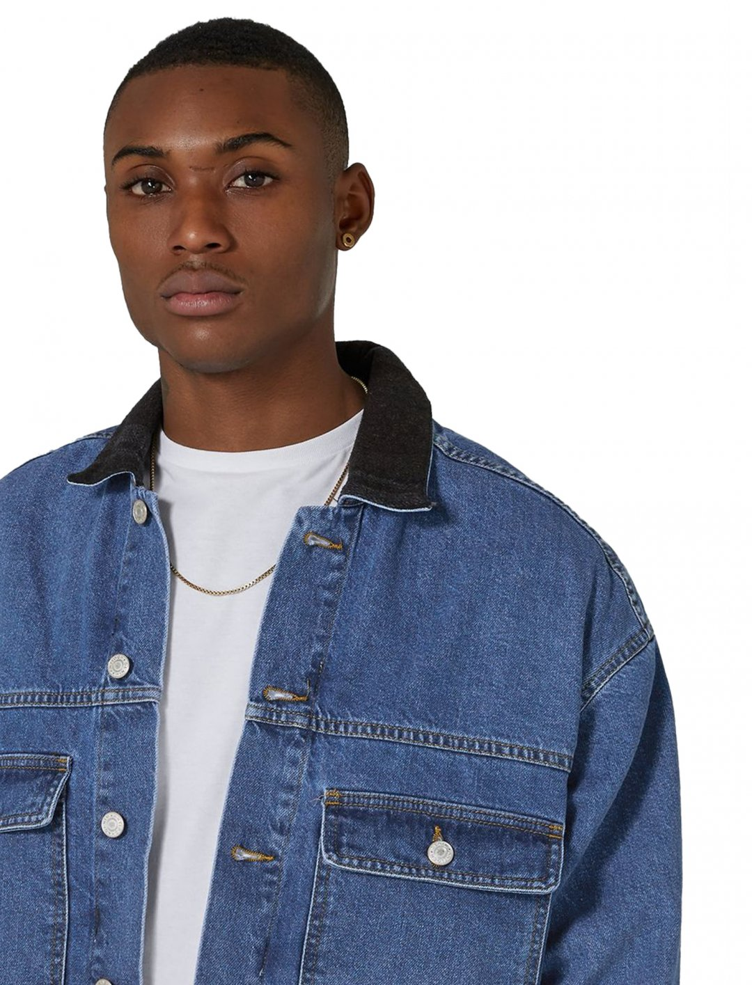 """Antioch's Trucker Denim Jacket {""""id"""":5,""""product_section_id"""":1,""""name"""":""""Clothing"""",""""order"""":5} Antioch"""