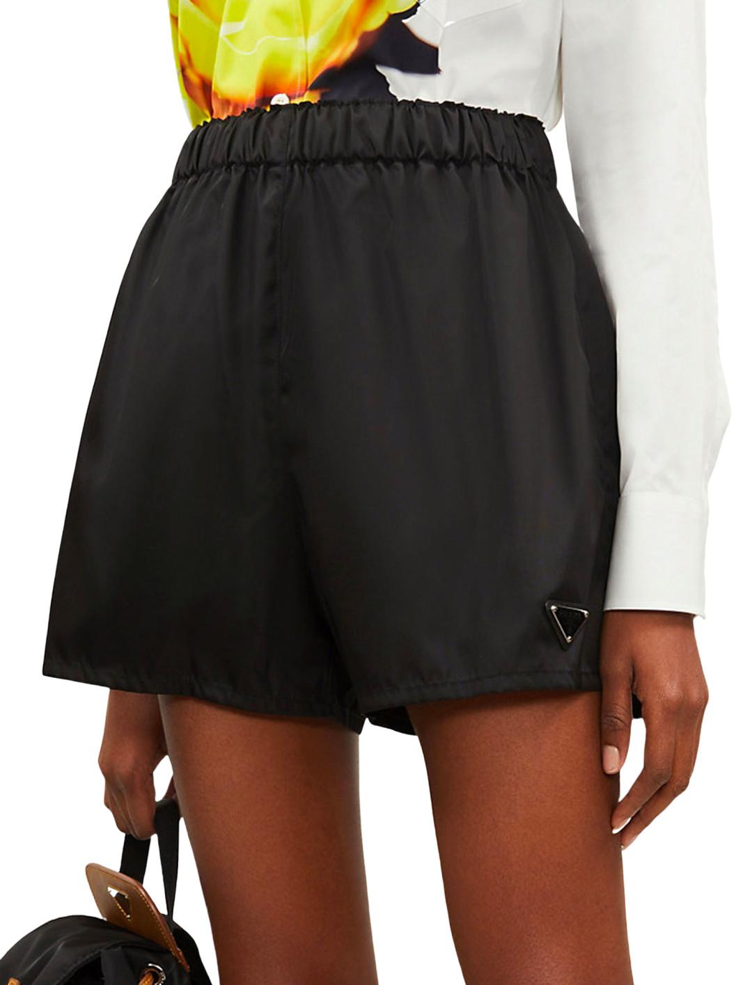 "Nylon Shorts {""id"":1,""product_section_id"":1,""name"":""Bags"",""order"":1} Prada"