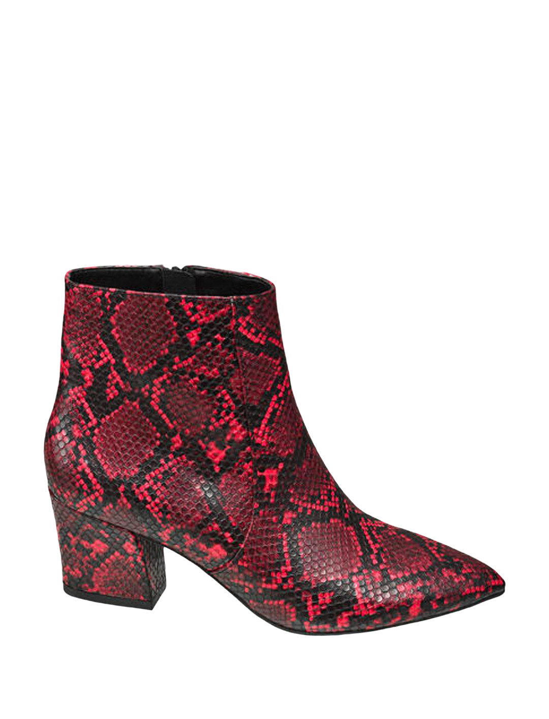 """Snake Print Ankle Boot {""""id"""":12,""""product_section_id"""":1,""""name"""":""""Shoes"""",""""order"""":12} Deichmann x Rita Ora"""