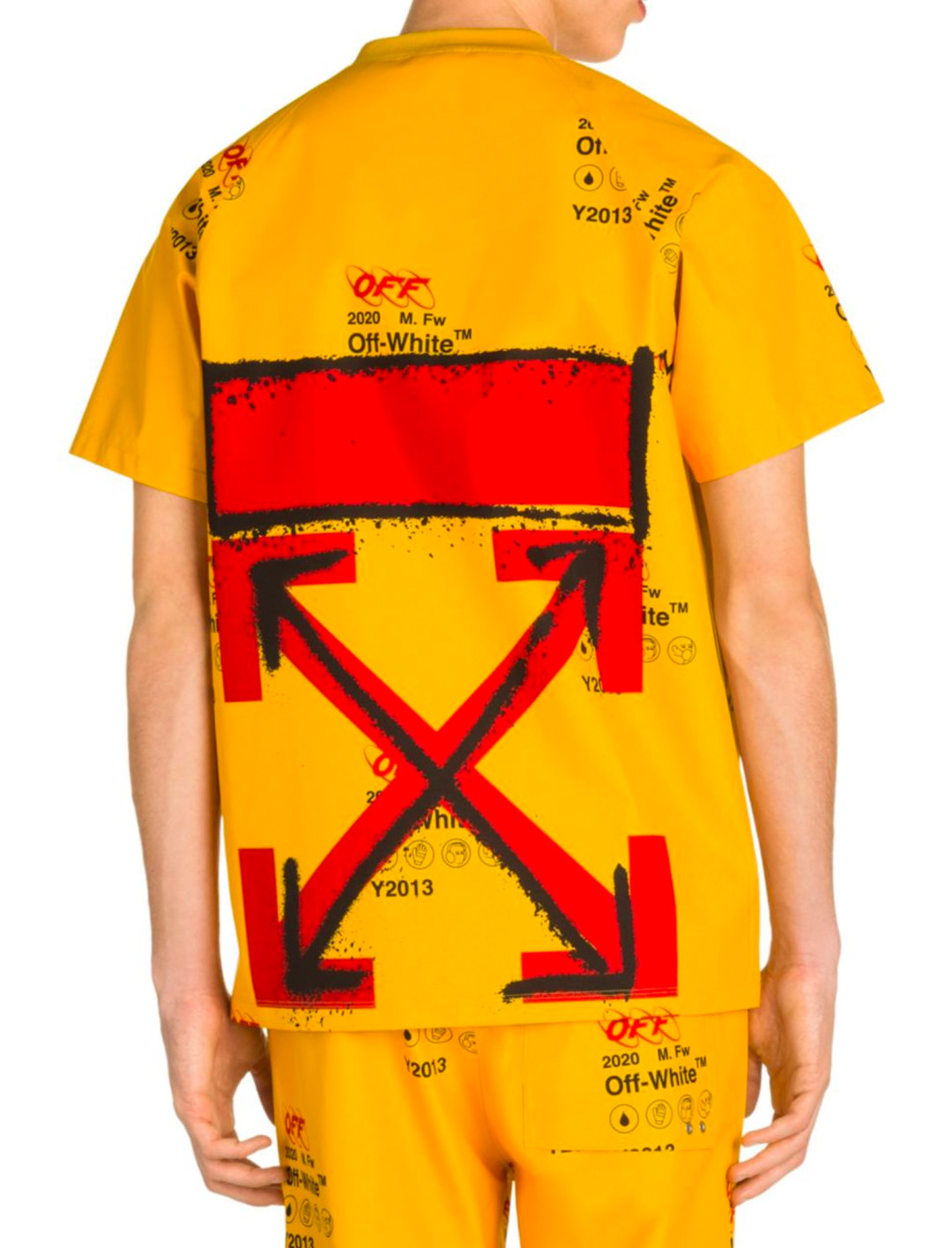 """Public Television Tee {""""id"""":5,""""product_section_id"""":1,""""name"""":""""Clothing"""",""""order"""":5} Off-White"""