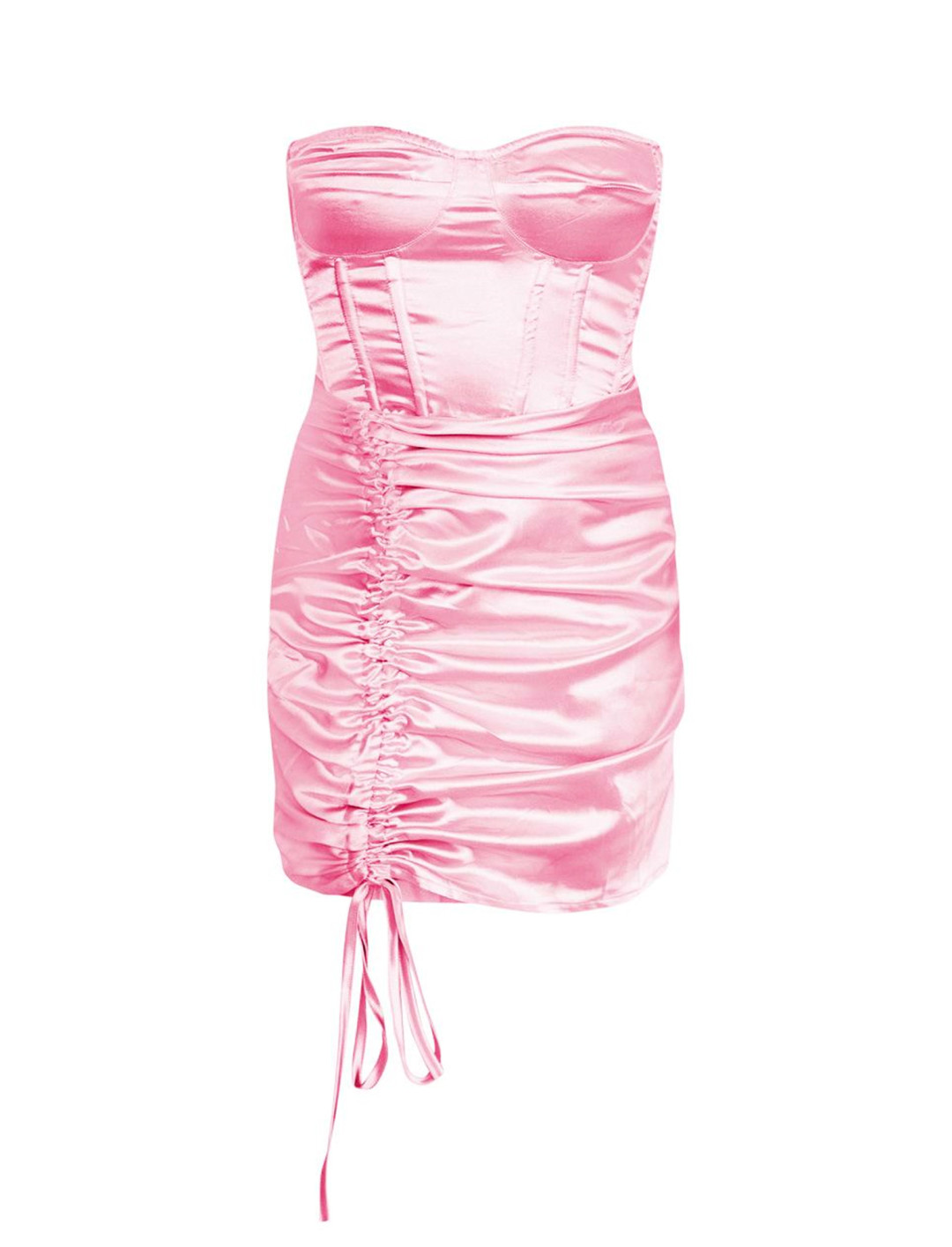 """Baby Pink Dress {""""id"""":5,""""product_section_id"""":1,""""name"""":""""Clothing"""",""""order"""":5} Saweetie x Pretty Little Thing"""