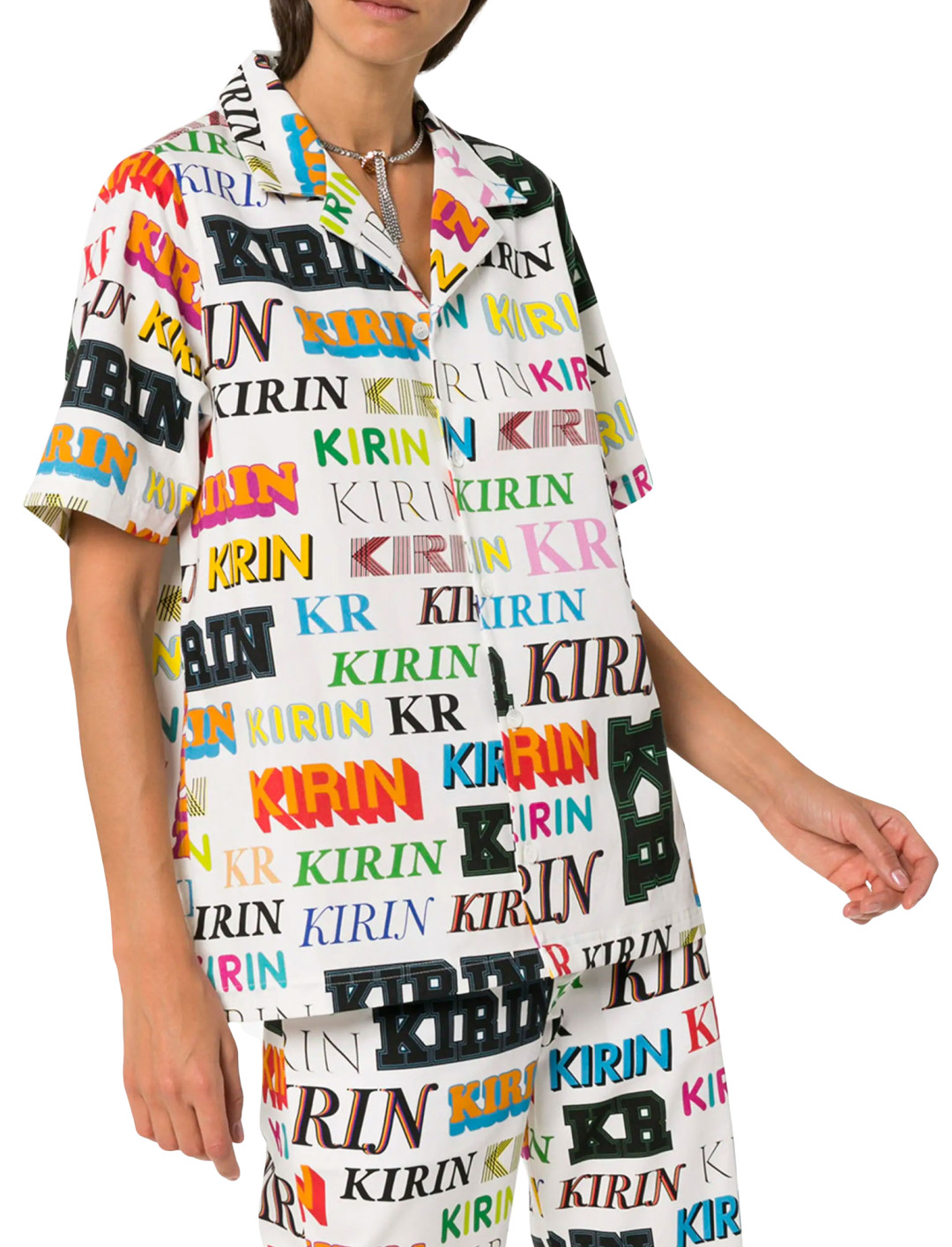 "Logo Print Shirt {""id"":5,""product_section_id"":1,""name"":""Clothing"",""order"":5} Kirin"