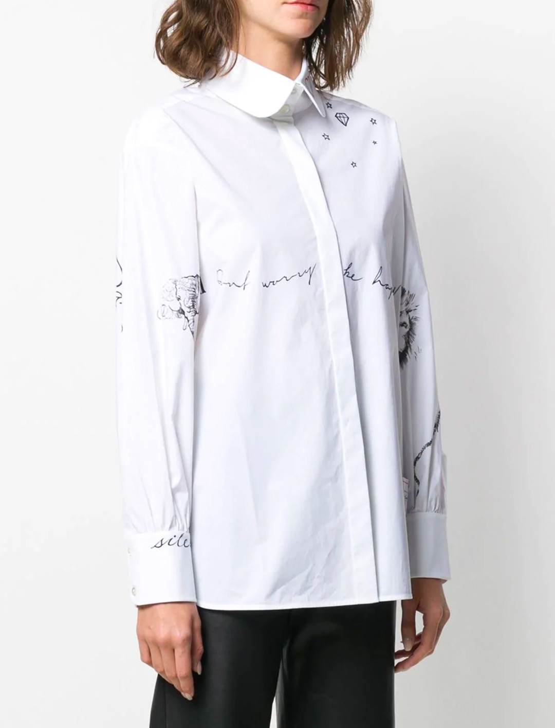 """Tribute Shirt by Cara Delevingne {""""id"""":5,""""product_section_id"""":1,""""name"""":""""Clothing"""",""""order"""":5} Karl Lagerfeld"""
