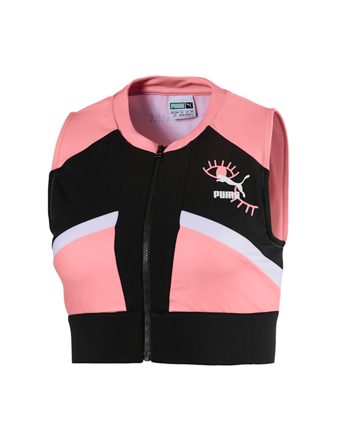 """Pink Crop Top {""""id"""":5,""""product_section_id"""":1,""""name"""":""""Clothing"""",""""order"""":5} Puma x Maybelline"""