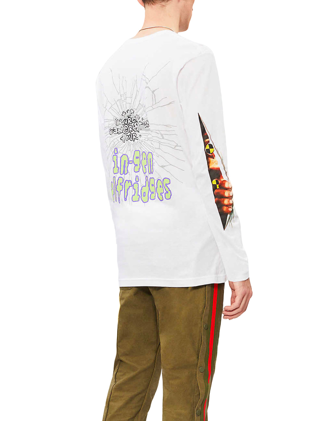 """A$AP Rocky Graphic Print Top {""""id"""":5,""""product_section_id"""":1,""""name"""":""""Clothing"""",""""order"""":5} AWGE"""