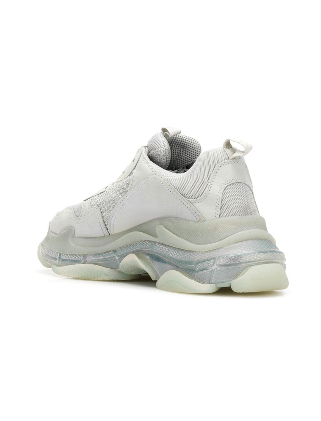 White Leather Trainers  Balenciaga