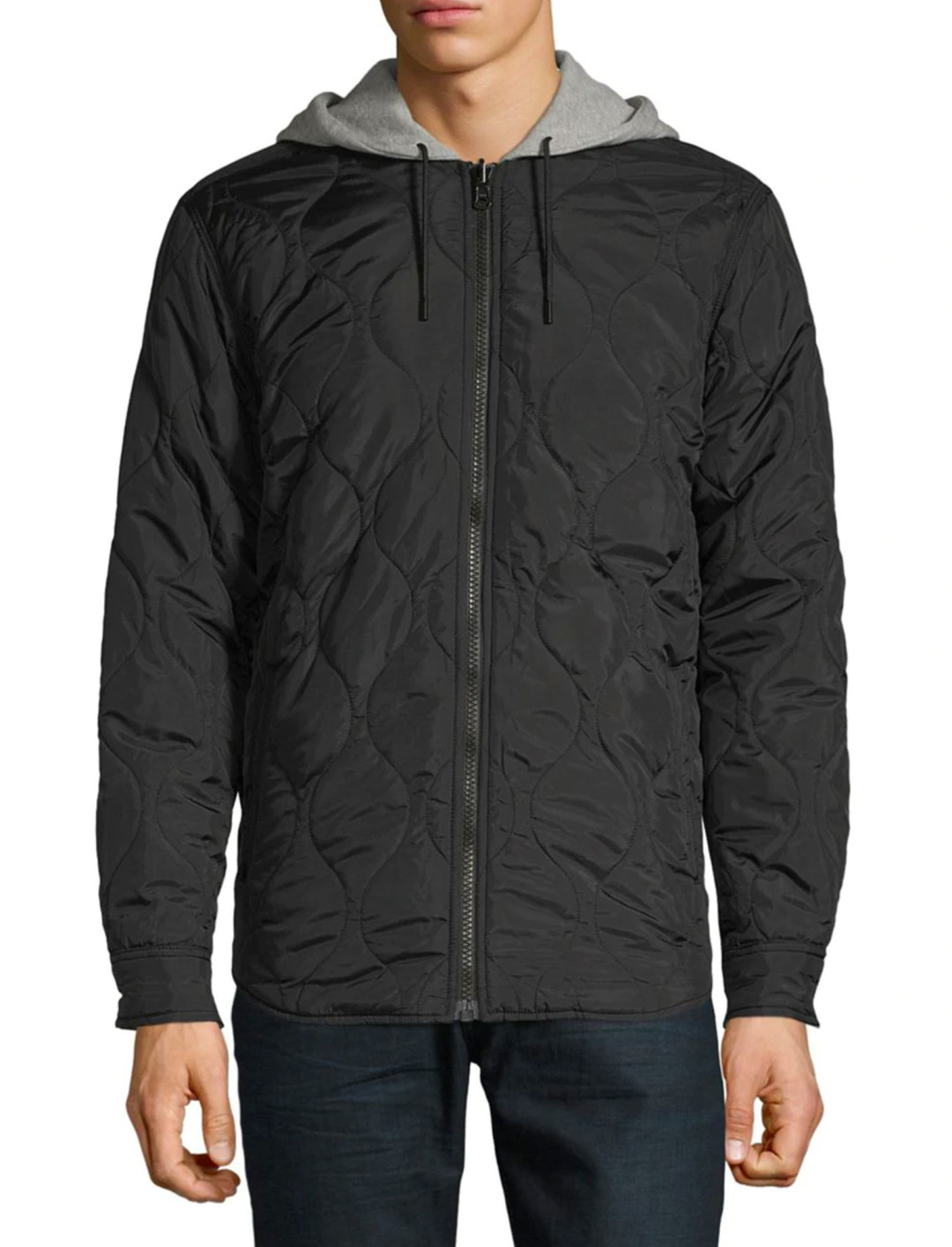 """Reversible Hooded Shacket {""""id"""":5,""""product_section_id"""":1,""""name"""":""""Clothing"""",""""order"""":5} Levi's x Justin Timberlake"""