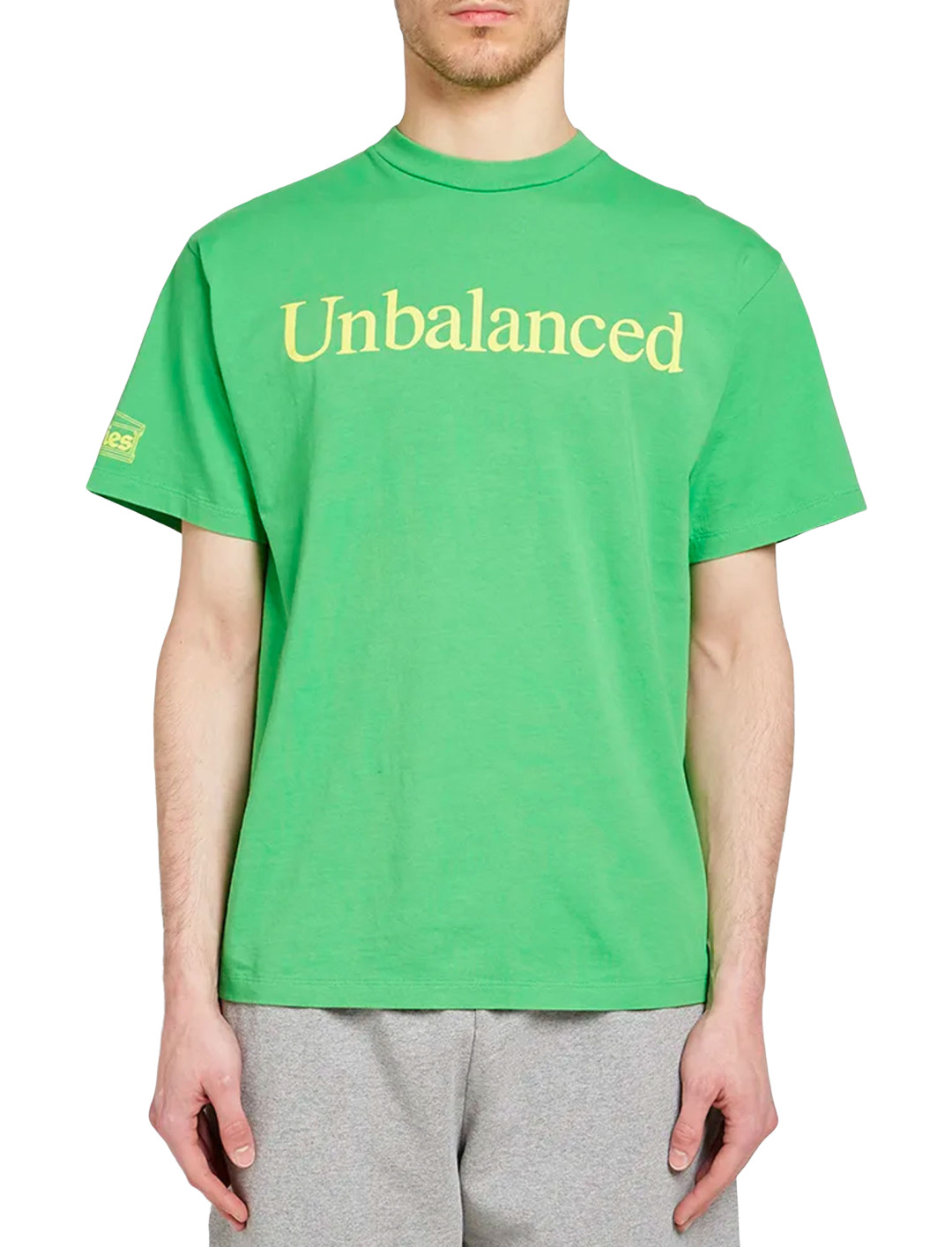 """Unbalanced Tee {""""id"""":5,""""product_section_id"""":1,""""name"""":""""Clothing"""",""""order"""":5} Aries x New Balance"""