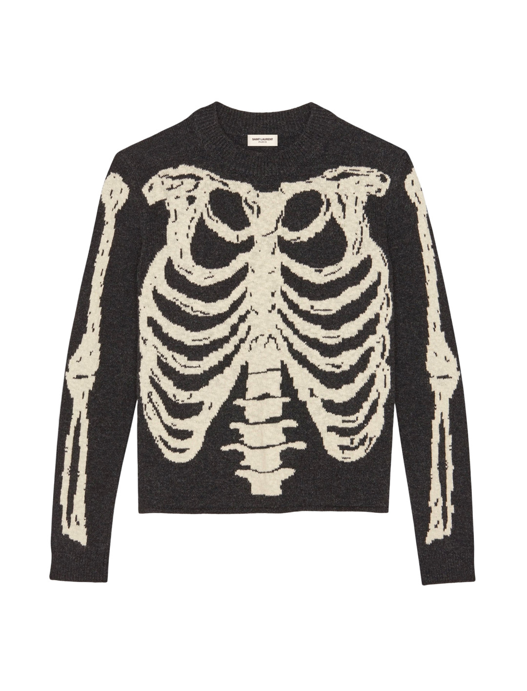 """Skeleton Jacquard Knit {""""id"""":5,""""product_section_id"""":1,""""name"""":""""Clothing"""",""""order"""":5} Saint Laurent"""