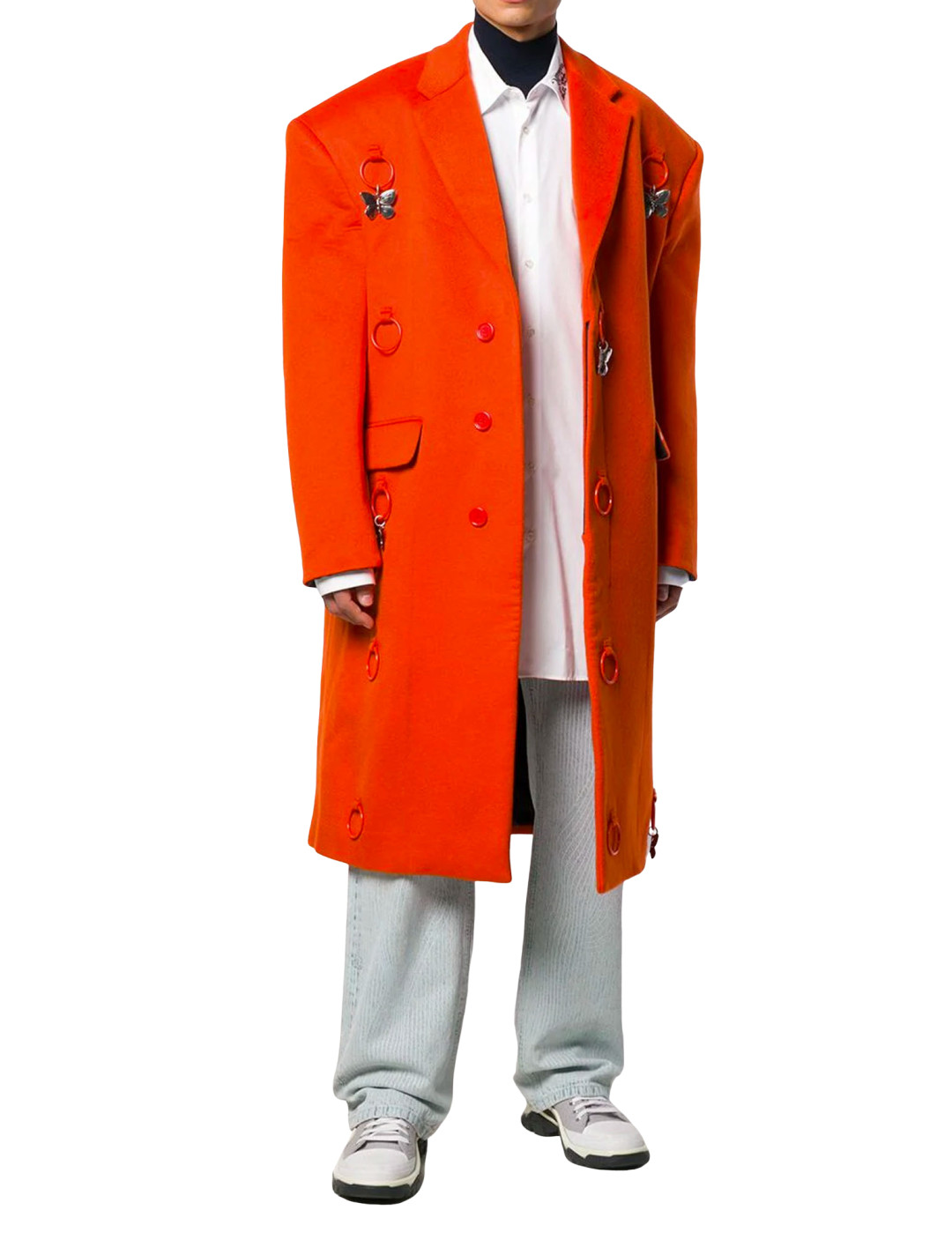 Orange Coat  Raf Simons