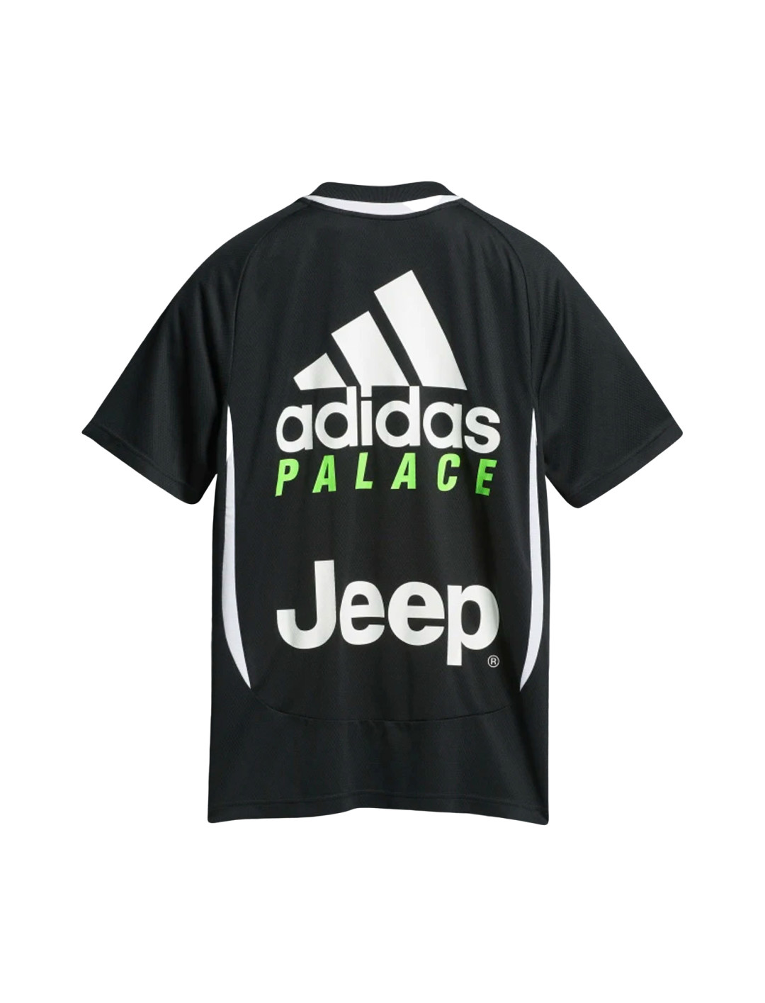 """Black T-shirt {""""id"""":1,""""product_section_id"""":1,""""name"""":""""Bags"""",""""order"""":1} Juventus x Palace x Adidas"""