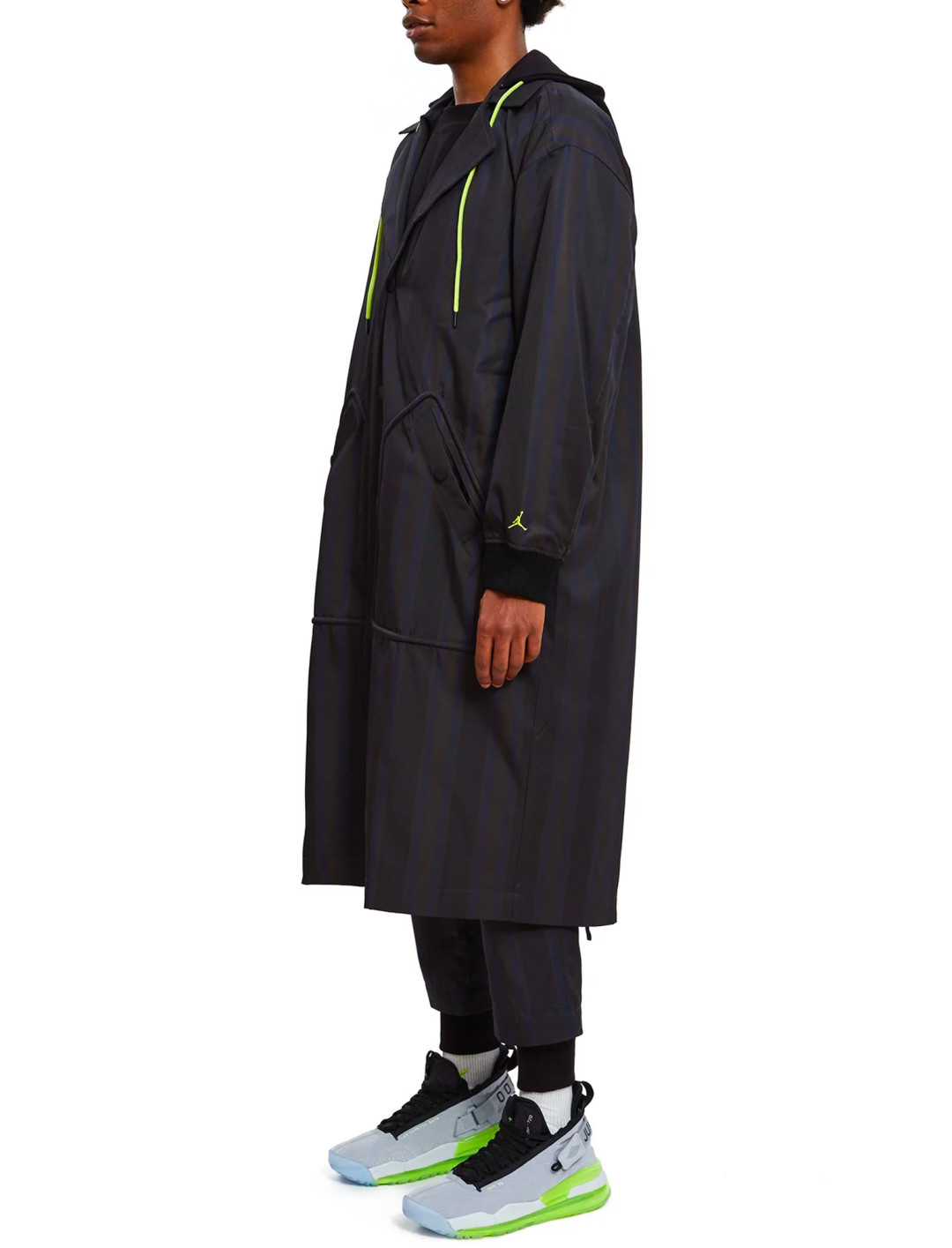 """Black Overcoat {""""id"""":5,""""product_section_id"""":1,""""name"""":""""Clothing"""",""""order"""":5} Opening Ceremony x Jordan Brand x Russell Westbrook"""