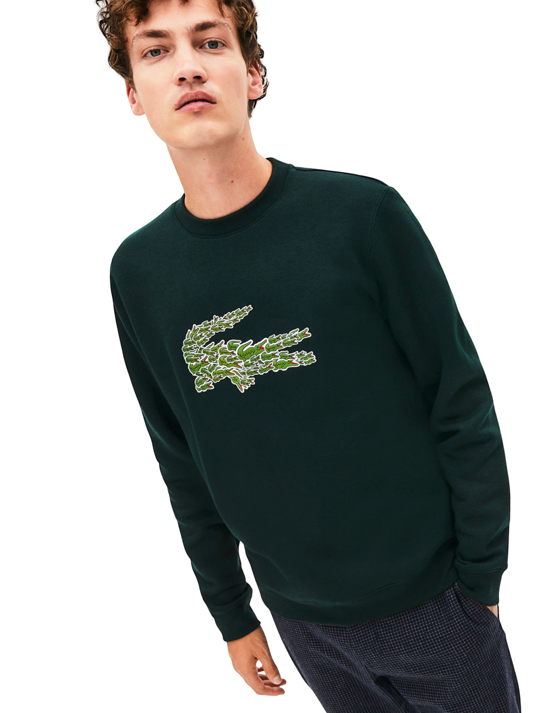 """Croco Magic Sweatshirt {""""id"""":5,""""product_section_id"""":1,""""name"""":""""Clothing"""",""""order"""":5} Lacoste"""