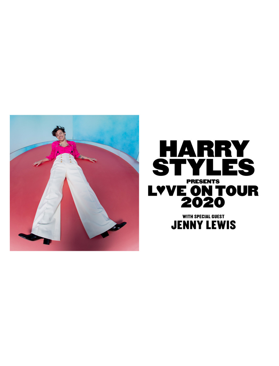 """Love On Tour {""""id"""":3,""""product_section_id"""":1,""""name"""":""""Booking & Tickets"""",""""order"""":3} Ticket Master"""