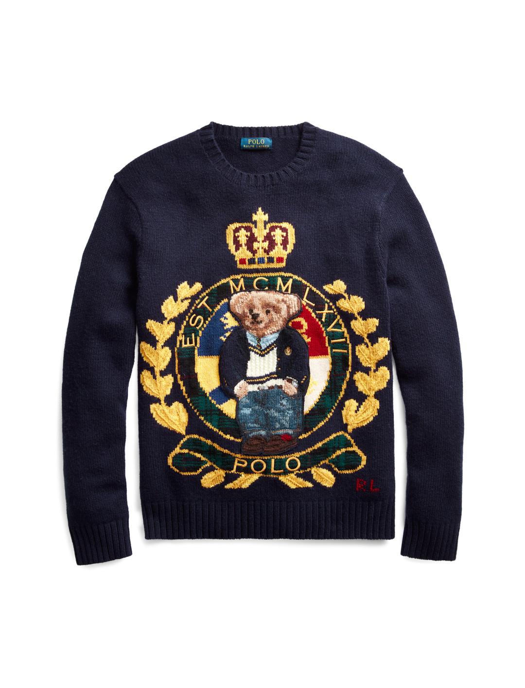 Bear Wool Jumper Clothing