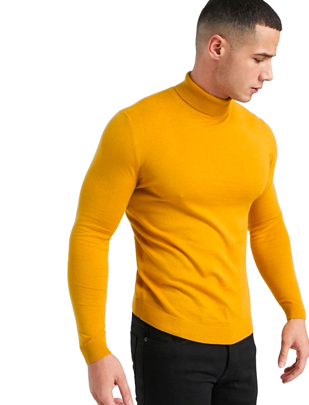 Roll Neck Jumper Clothing