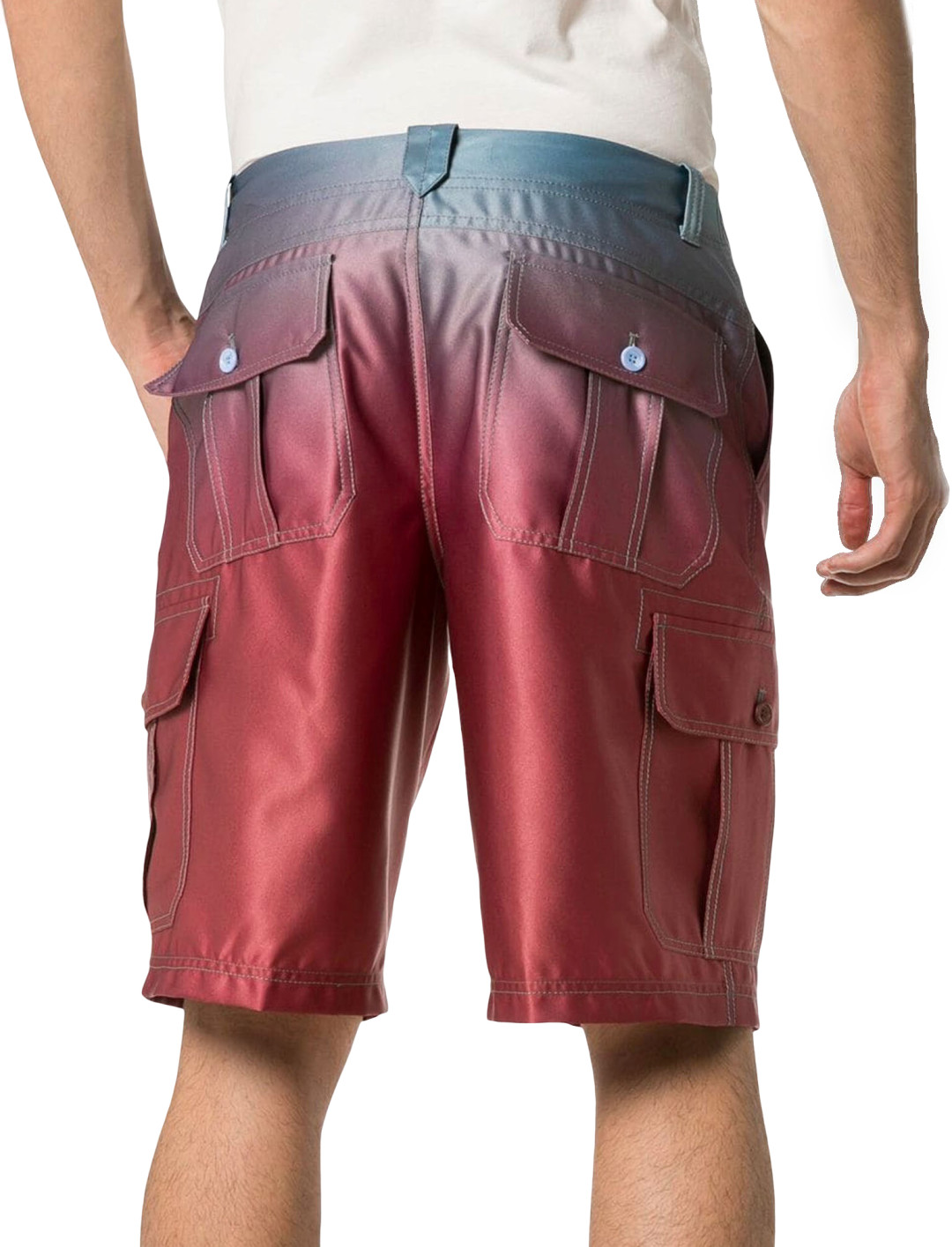 Ombre Shorts Clothing