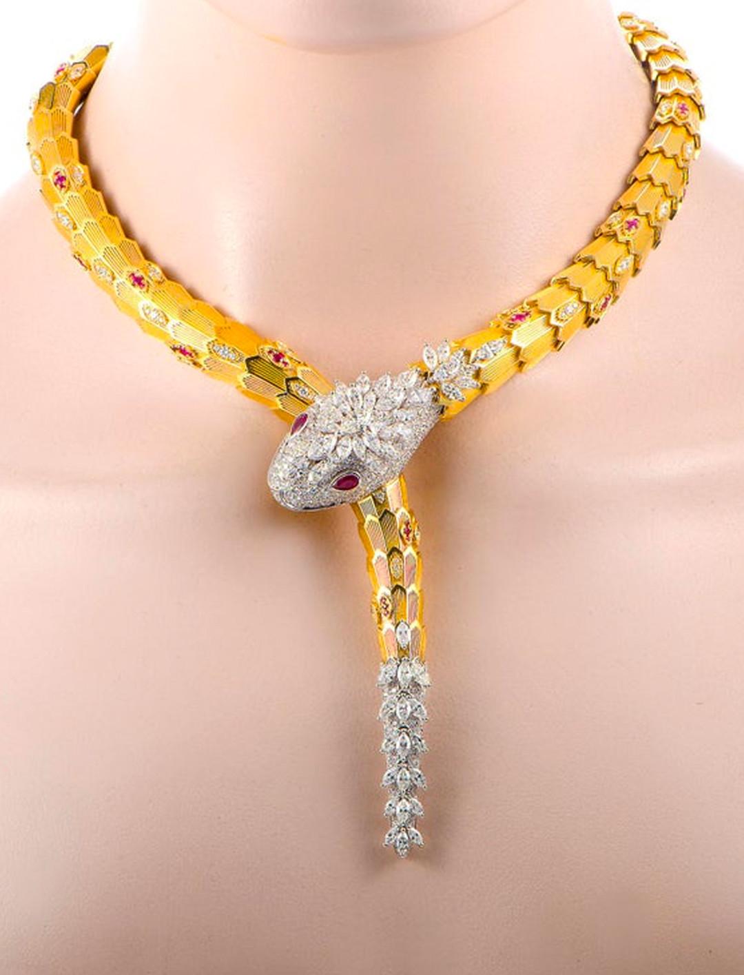 Snake Necklace Jewellery