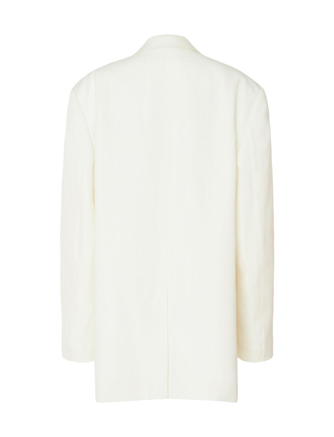 Oversized Twill Blazer Clothing