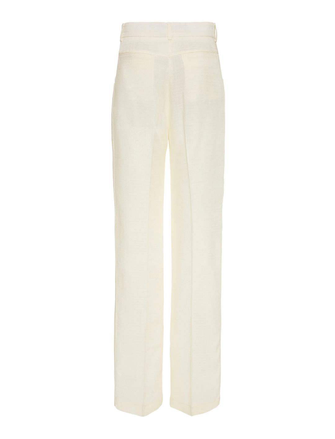 Straight-Leg Trousers Clothing