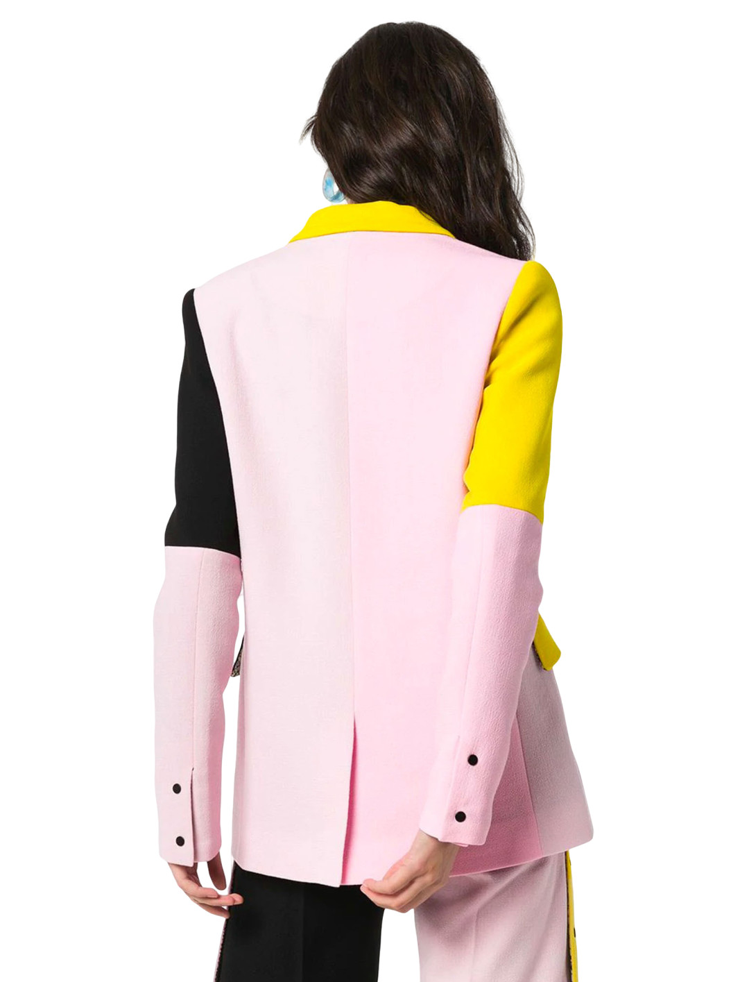 Colour-block Blazer