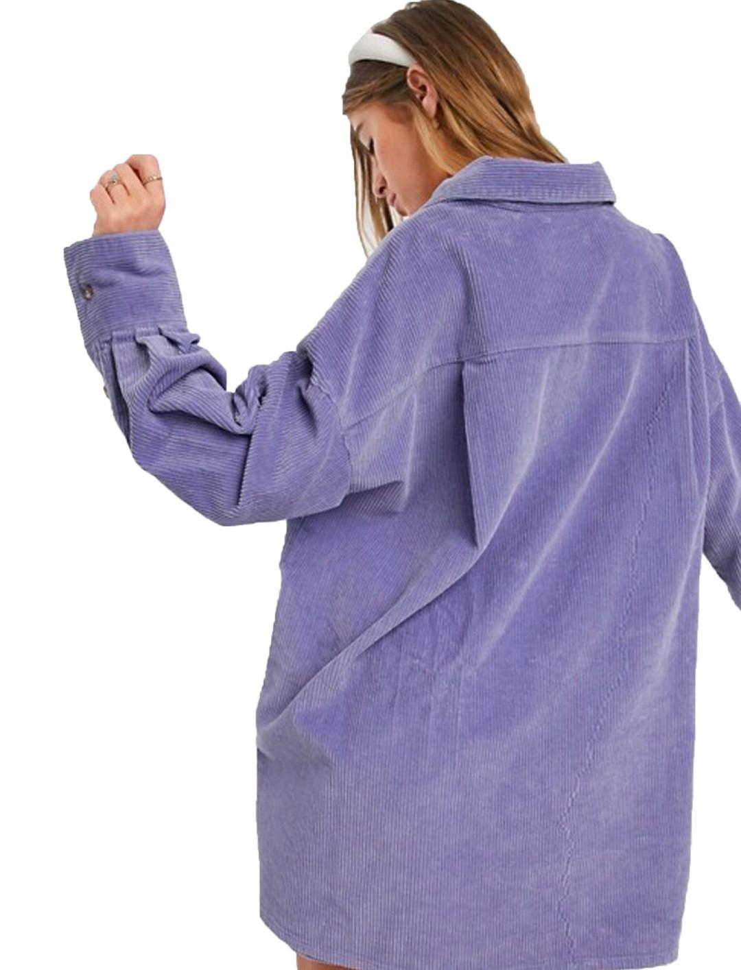 Cord Oversized Shirt