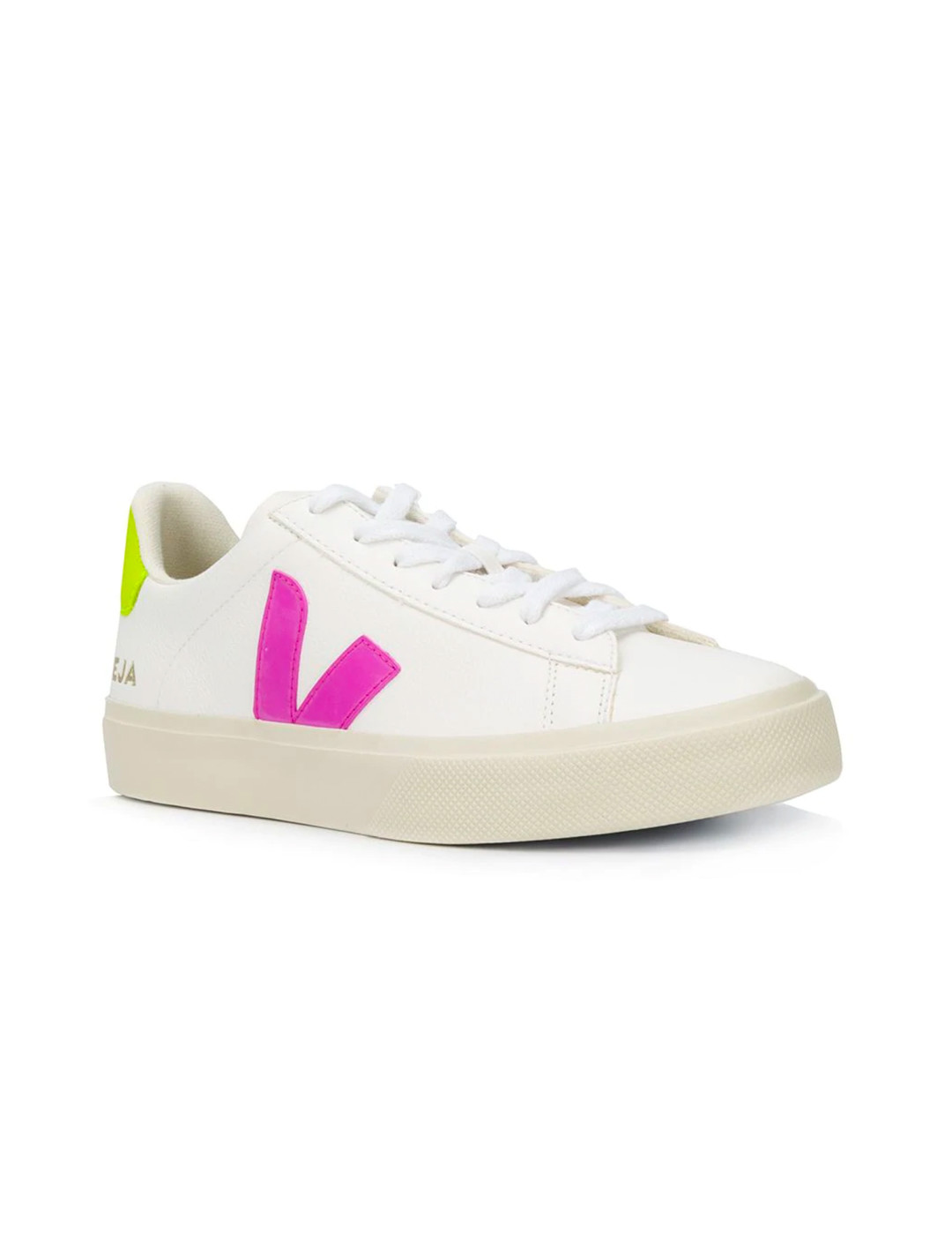 Contrast Logo Sneakers