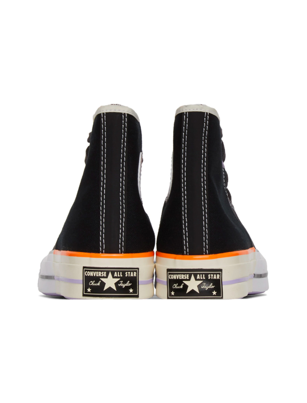 Black Reconstructed Chuck 70 Sneakers