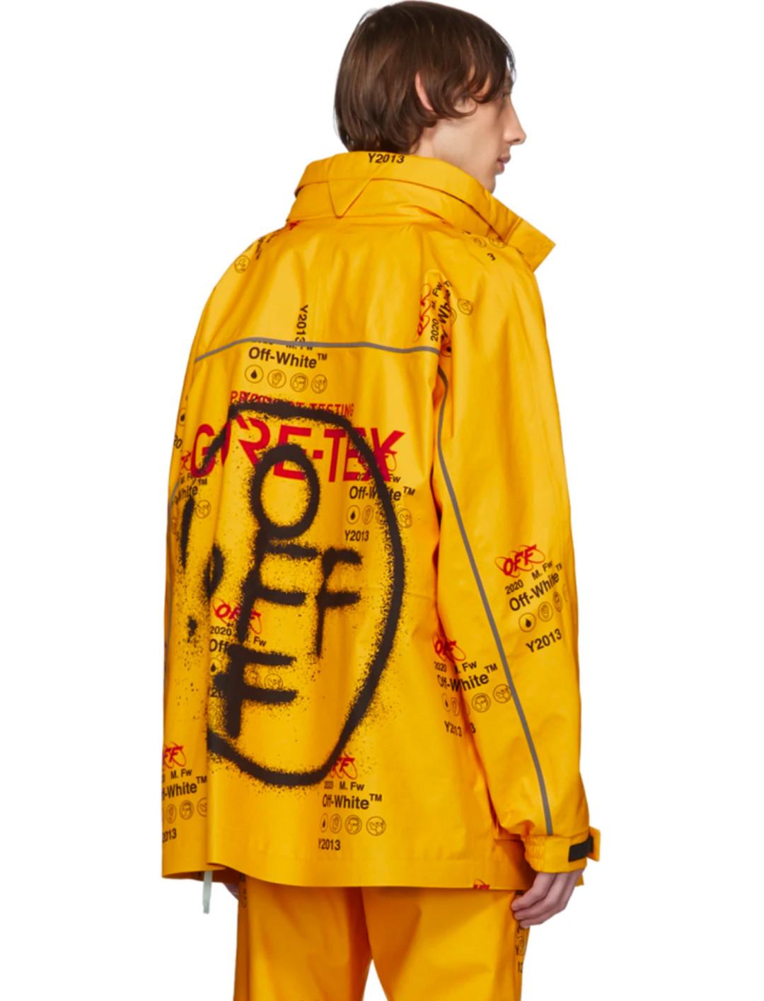 Yellow Ski Jacket