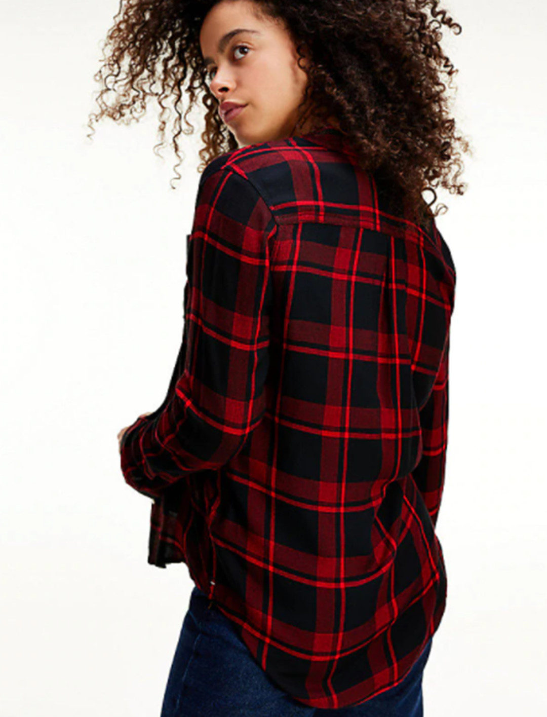 Viscose Check Shirt