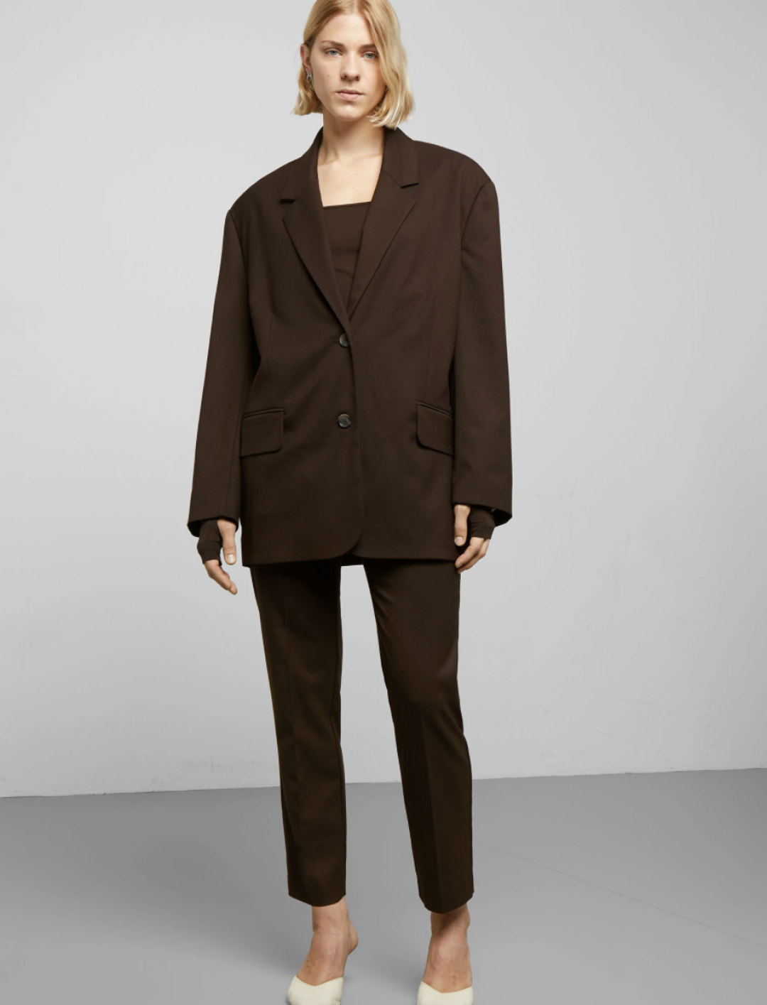 Echo Blazer In Brown