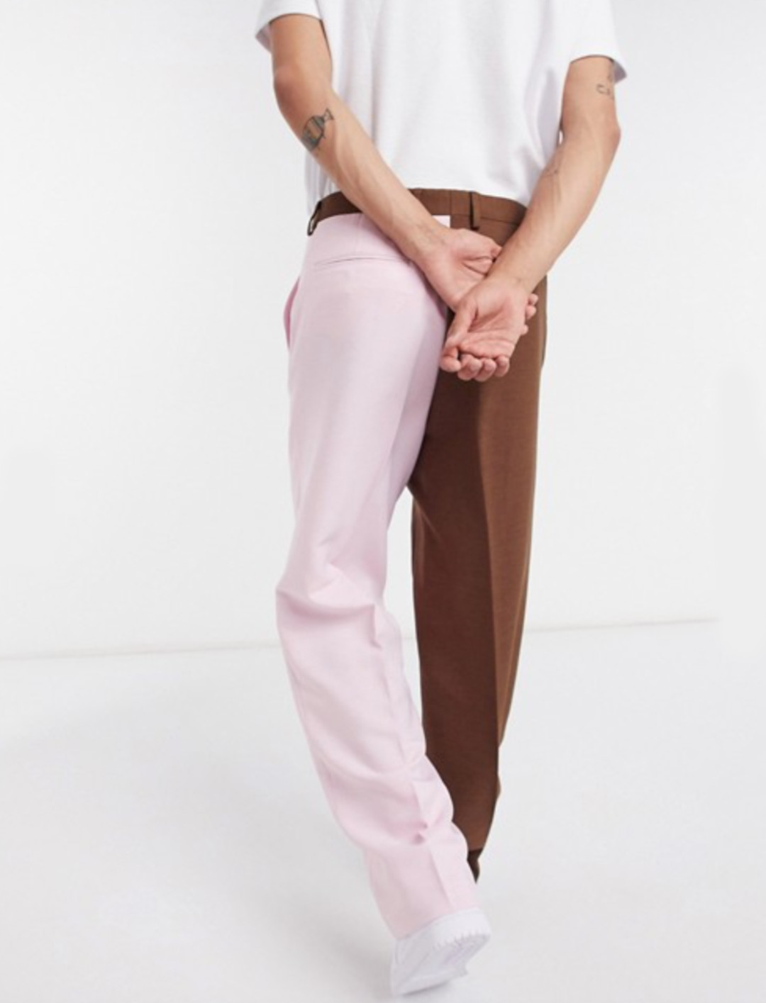 Co-Ord Split Hem Loose Fit Trousers