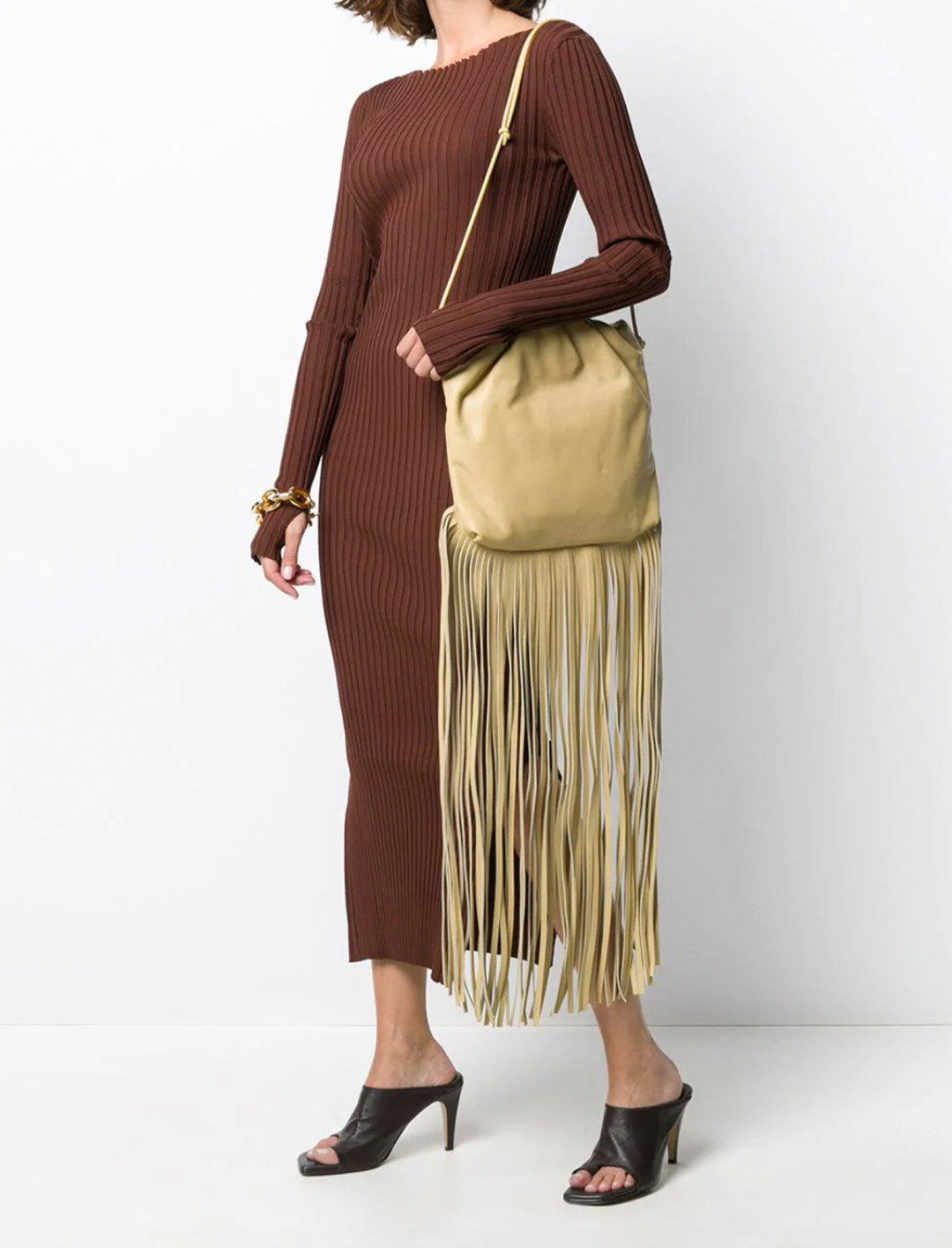 The Fringe Pouch Shoulder Bag
