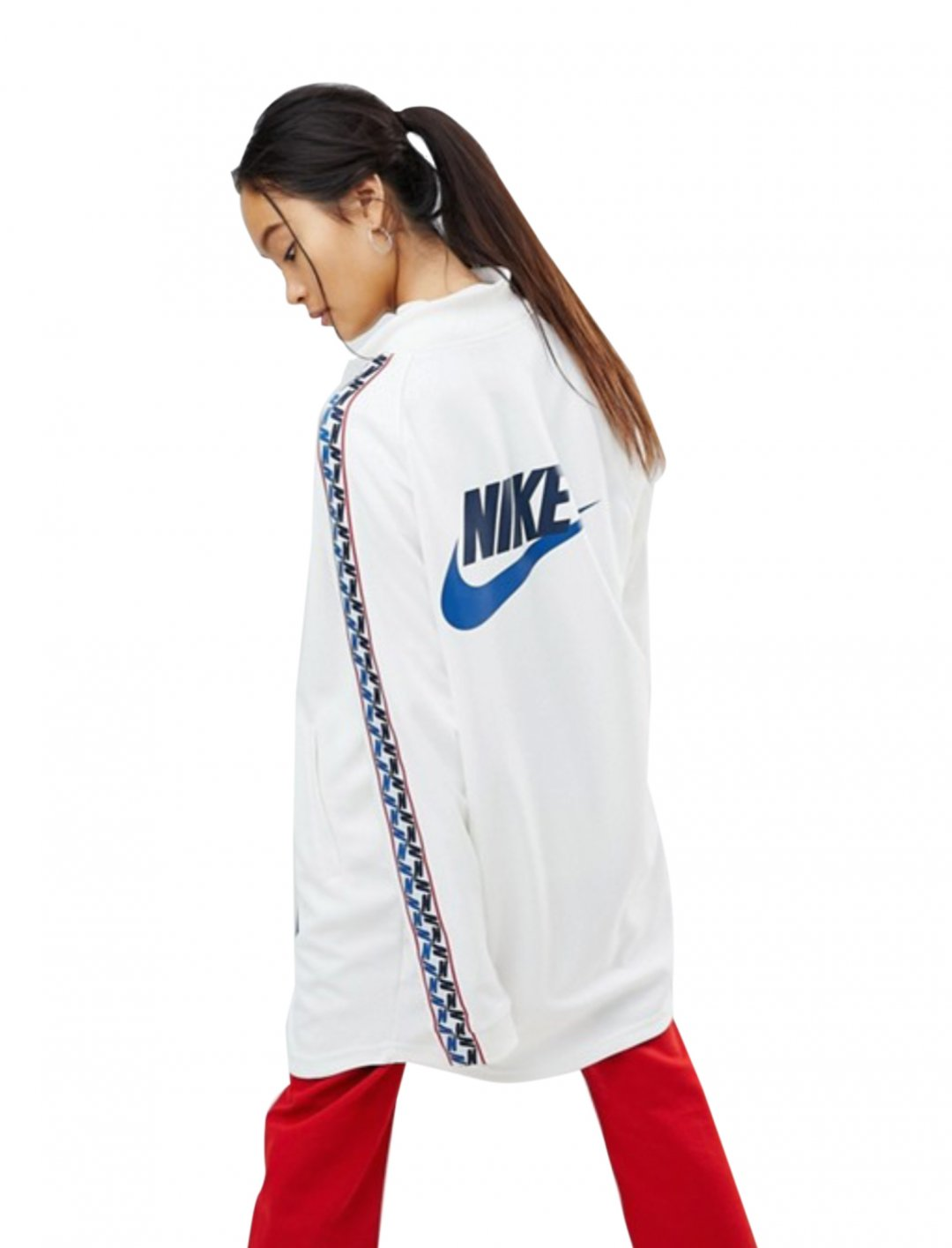 "Taped Side Stripe Track Jacket {""id"":5,""product_section_id"":1,""name"":""Clothing"",""order"":5} Nike"