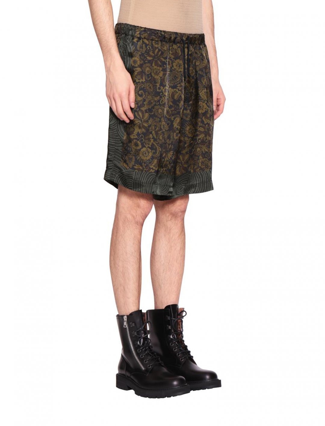 """Avelino's Piper Viscose Shorts {""""id"""":5,""""product_section_id"""":1,""""name"""":""""Clothing"""",""""order"""":5} Dries Van Noten"""