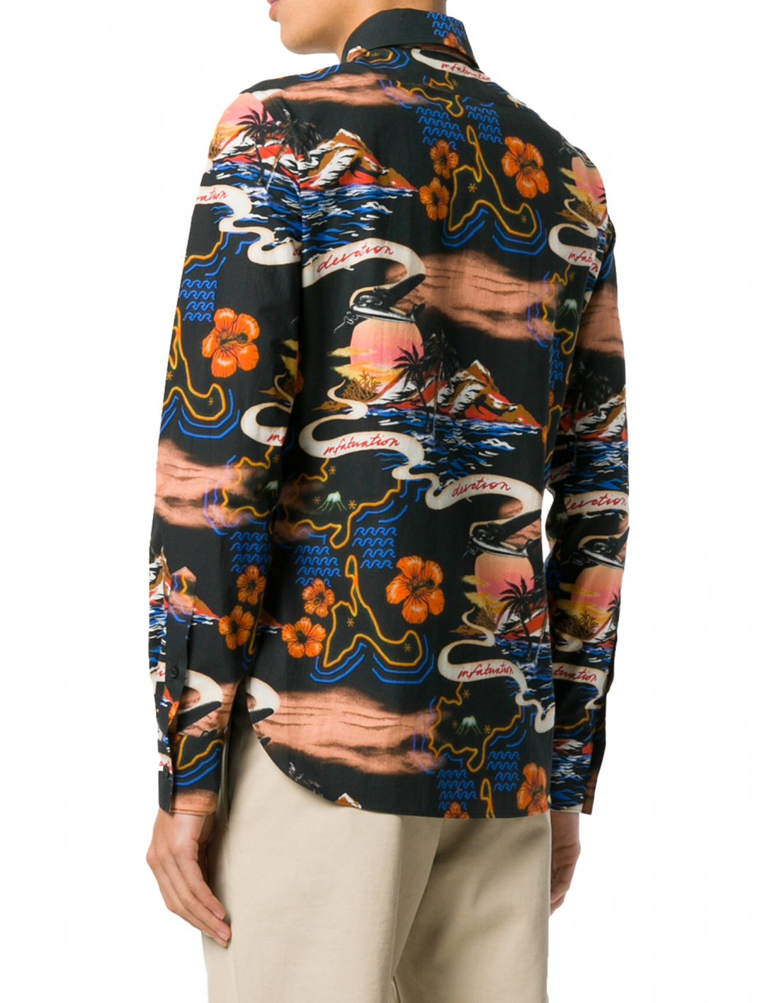 """Avelino's Tropical Print Shirt {""""id"""":5,""""product_section_id"""":1,""""name"""":""""Clothing"""",""""order"""":5} Stella McCartney"""