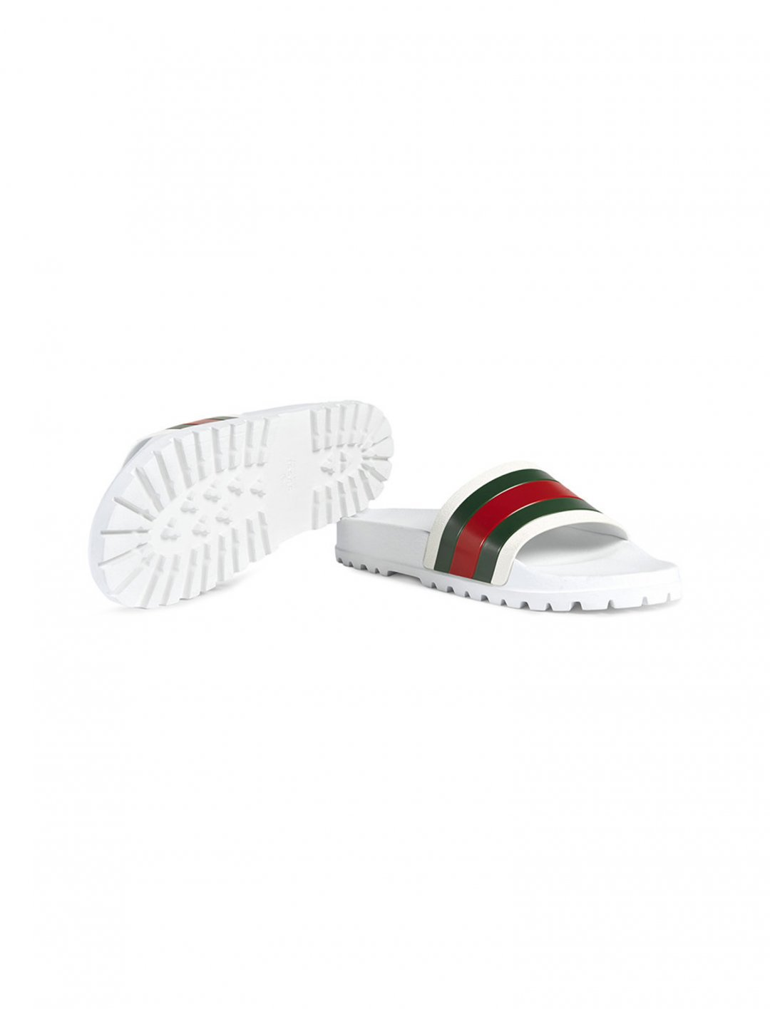 """Avelino's Web Slide Sandal {""""id"""":12,""""product_section_id"""":1,""""name"""":""""Shoes"""",""""order"""":12} Gucci"""